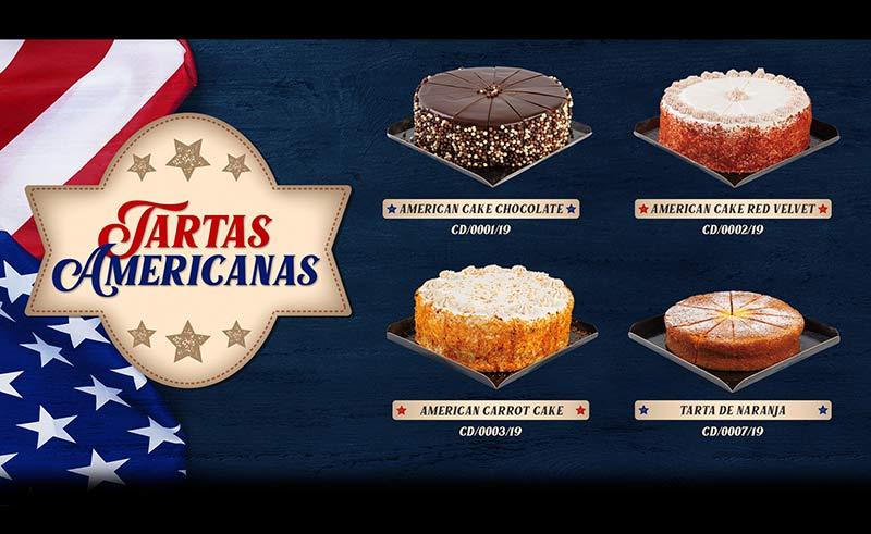 Tartas americanas